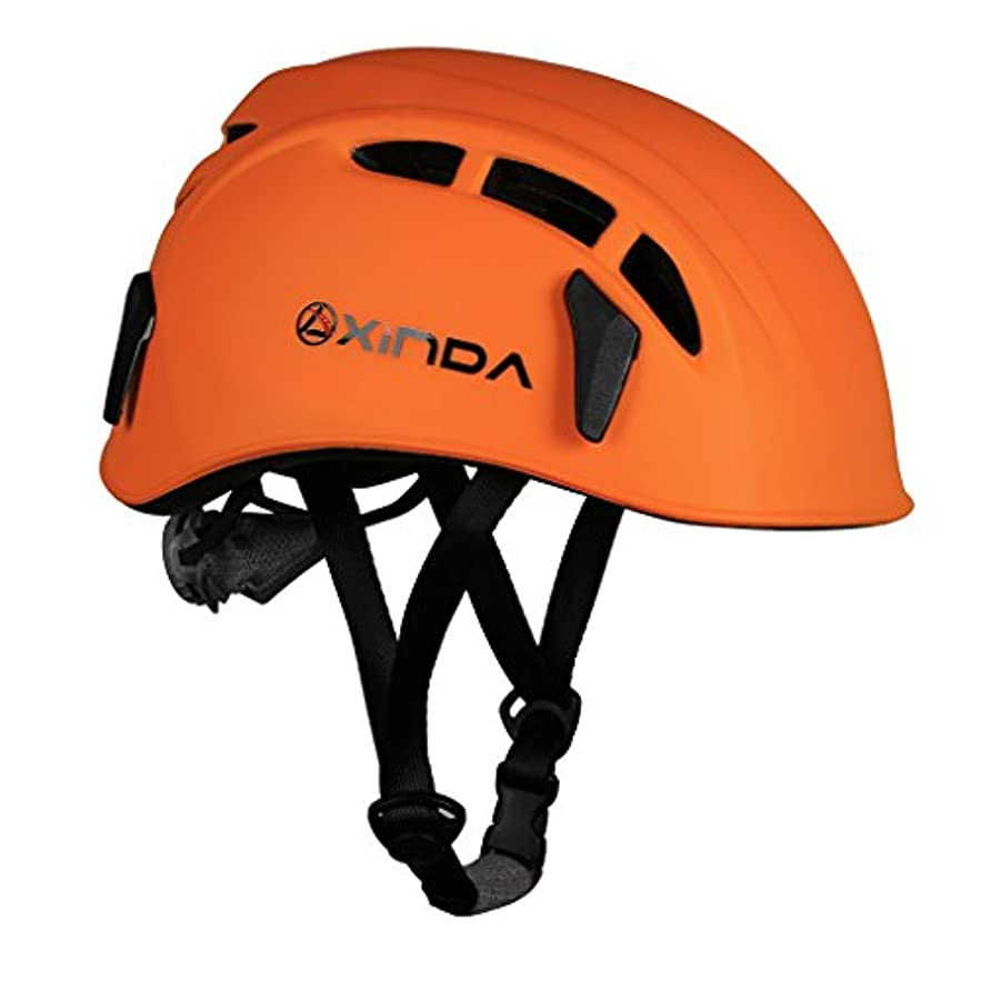 負無関心が欲しいCUTICATE 登山 クライミング ヘルメット 安全帽子 高強度 通気性 頭部 プロテクター 防護帽