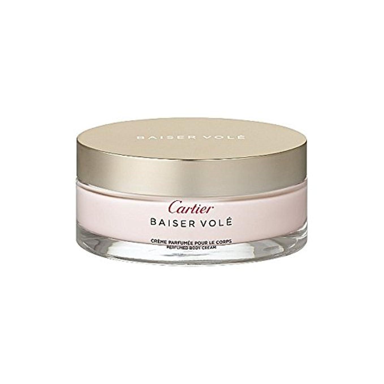 傷つける動く群集Cartier Baiser Vol? Perfumed Body Cream 200ml (Pack of 6) - カルティエのハタネズミ香りのボディクリーム200ミリリットル x6 [並行輸入品]