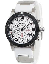[サルバトーレマーラ]Salvatore Marra 腕時計 SM17111-SSWH-WH クロノグラフ メンズ【並行輸入品】
