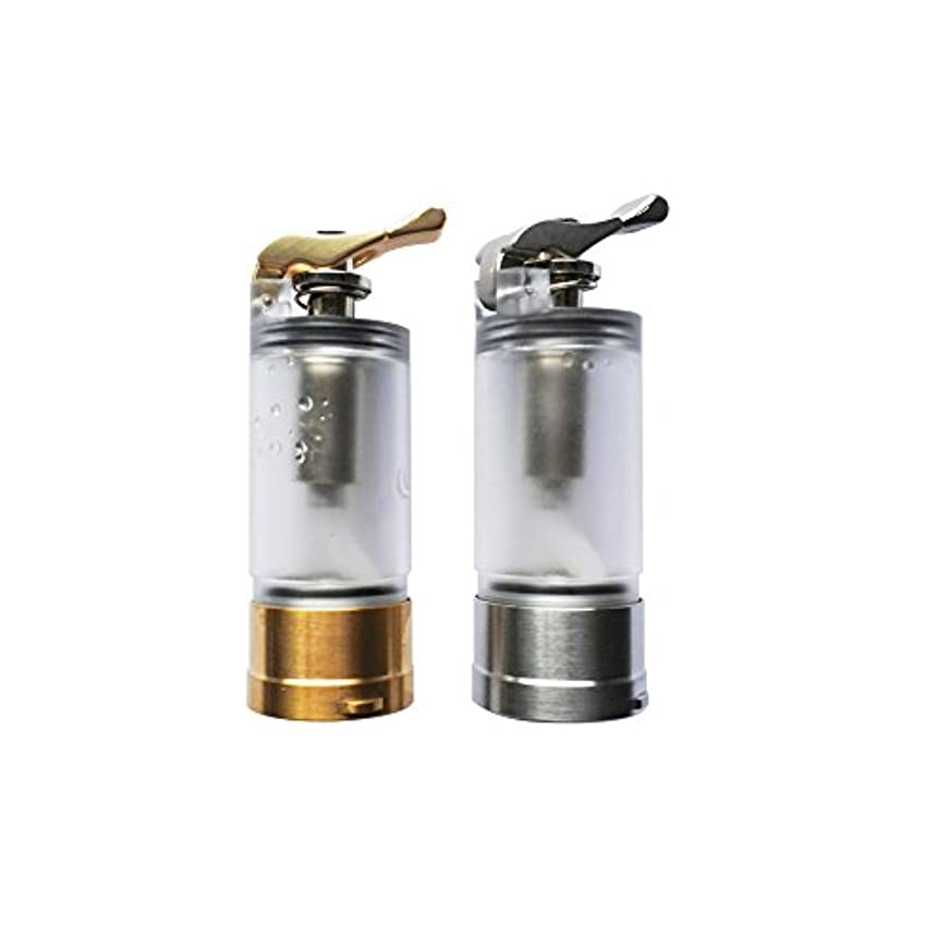 ラフいつかホーン電子タバコ スコンカー BF アクセサリー Asmodus Pumper 18 20-21 (アスモダス パンパ― 18 20 21) 対応 交換用 タンク (② ゴールド)