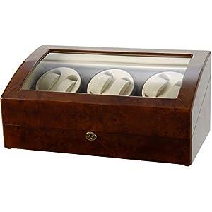 [サンブランド]SUNBRAND ワインダー ワインディングマシーン 6本巻 時計収納(7本収納) GC03-T31