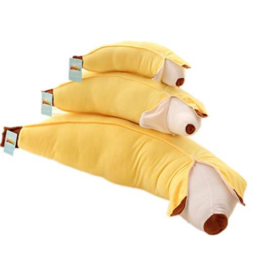 ぬいぐるみ かわいい 抱き枕 バナナ おもちゃ おもしろ ふわふわ 動物 プレゼント 母の日 入学祝い 卒業祝い クリスマス 贈り物 やさしい手触り 赤ちゃん 飾り物 子供の日 癒し系 幼児 ギフト お誕生日 記念日 スーパーソフト 100cm イエロー