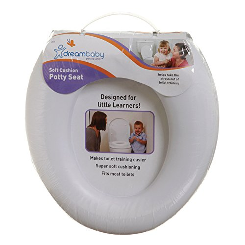 dreambaby ドリームベビー Soft Cushion Potty Seat White やわらか ソフト補助便座 White ホワイト