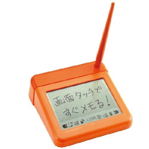 タッチペンで書き込める電子メモ「mamemo(マメモ)」