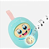 wanrane Cute Kids Roly - Poly Toy Baby Safe Teether Pram Rattleベルタンブラー知的教育玩具(ランダムカラー)