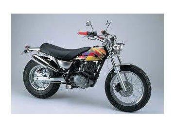 ハリケーン (HURRICANE) バイクマフラー フルエキゾースト ファットボーイマフラー バンバン200 HE1412S