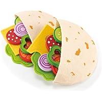 Hape - Playfully Delicious - Pita Pocket - Play Set [並行輸入品]