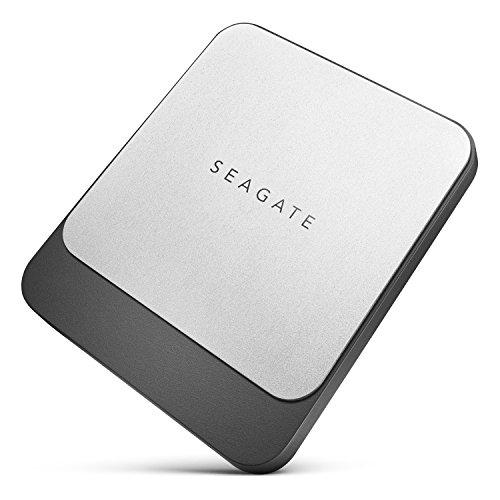 Seagate FAST SSD 500GB 外付 ポータブル 3年保証 黒...