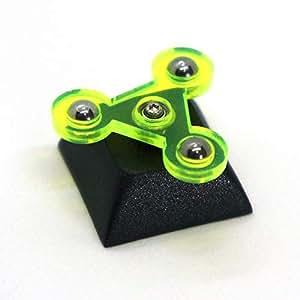 ハンドスピナー キーキャップ cherryMXメカニカルスイッチ互換 fidget spinner Artisan keycap 日本製 FSK-BG