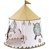 キッズテント ゲームテント子供のテントゲーム家 屋内ゲーム城のおもちゃの家 家の男の子の女の子のポップアップおもちゃの家 子供の贈り物を格納する 簡単に送信 キッズテント (Color : 白, Size : 116*116*123cm)