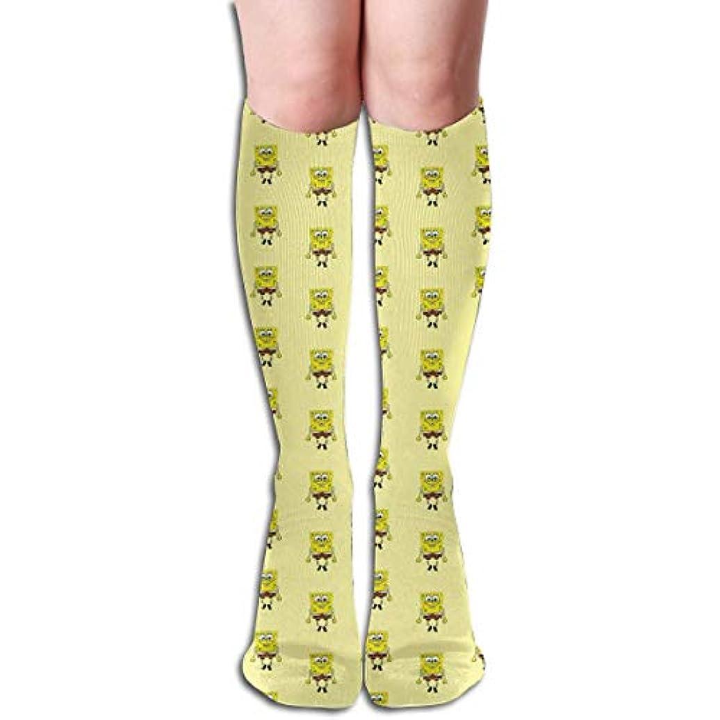ハンディキャップミネラル遠えqrriyダンススポンジボブチューブストッキングレディース冬暖かい暖かいハイソックスブーツ靴下