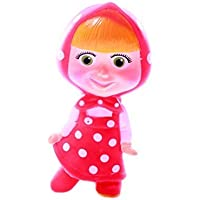 Bath Toy, Masha (Rubber Toy), From Russian Cartoon Masha I Medved by Symbat [並行輸入品]