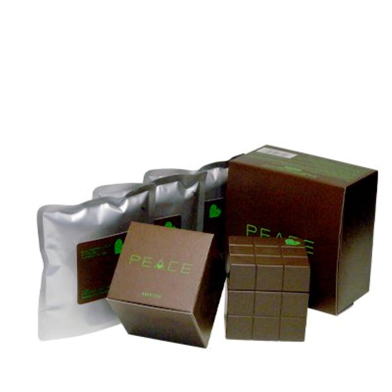 胚荒涼としたジャングルアリミノ ピース プロデザインシリーズ ハードワックス チョコ80g+詰め替え80g×3