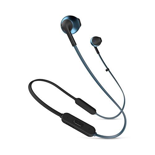 JBL TUNE205BT Bluetoothイヤホン マイクリモコン付き/オープンタイプ ブルー JBLT205BTBLU 【国内正規品/メーカー1年保証付き】