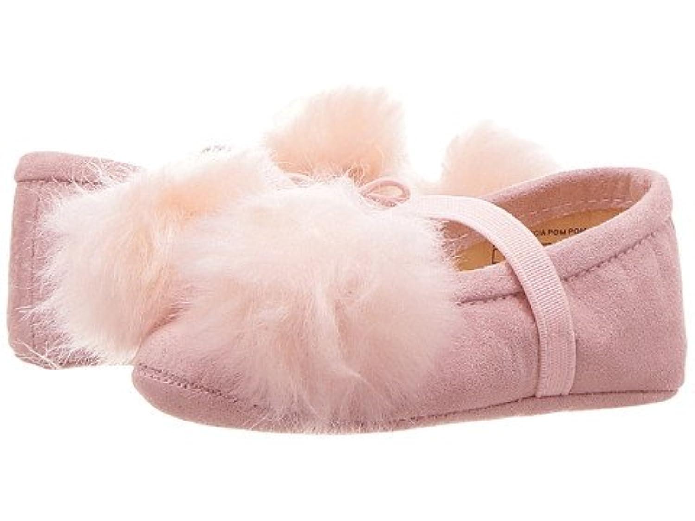 (サムエデルマン)Sam Edelman ガールズベビーシューズ?靴 Felicia Pom Pom (Infant/Toddler) Light Pink 1 Infant 8.5cm M [並行輸入品]