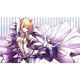 フロンティアゲーム Fate/EXTRA CCC 同人 TCGプレイマット 『セイバーブライド/Illust:トシ』【サンクリ2015 Autumn】