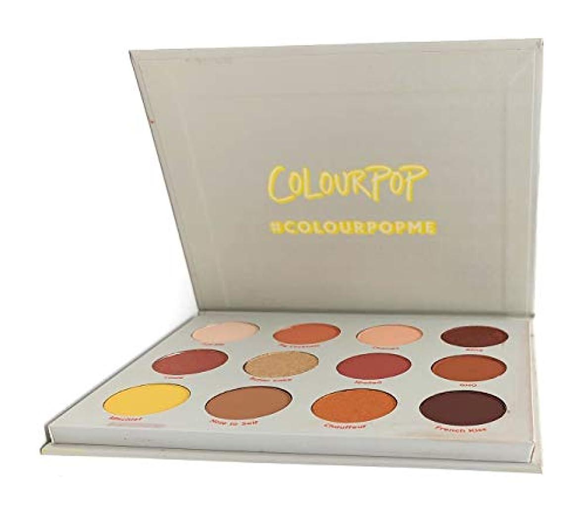 ハイライト意志に反する上に築きますColourPop - Pressed Powder Shadow Palette - Yes, Please!