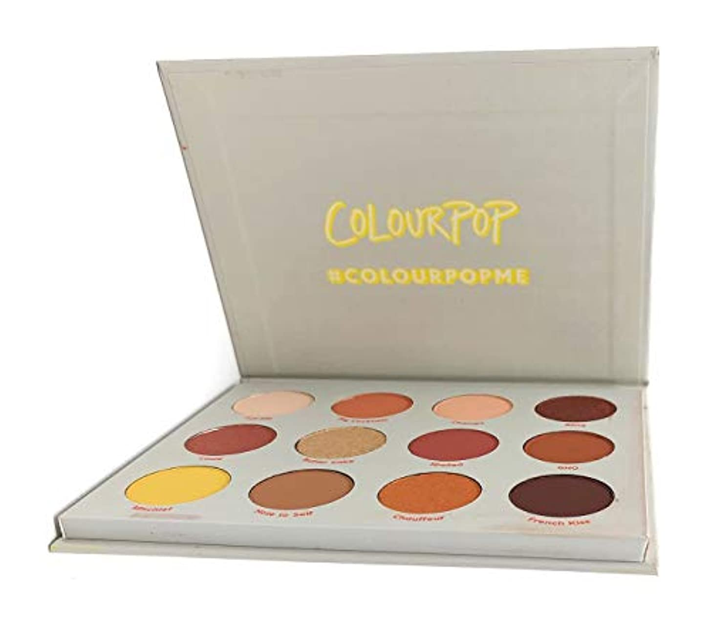 太鼓腹エスカレーターアプトColourPop - Pressed Powder Shadow Palette - Yes, Please!
