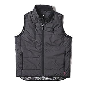 Heaton暖房服 ユニセックス インナーベスト 【暖房服+リチウムセット】 VG-2001-BK-M サイズ:M カラー:ブラック
