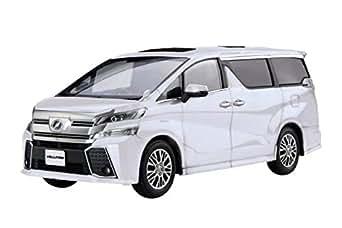 フジミ模型 1/24 車NEXTシリーズ No.8 ヴェルファイア ZA G EDITION(ホワイトパールクリスタルシャイン) 色分け済み プラモデル 車NX8