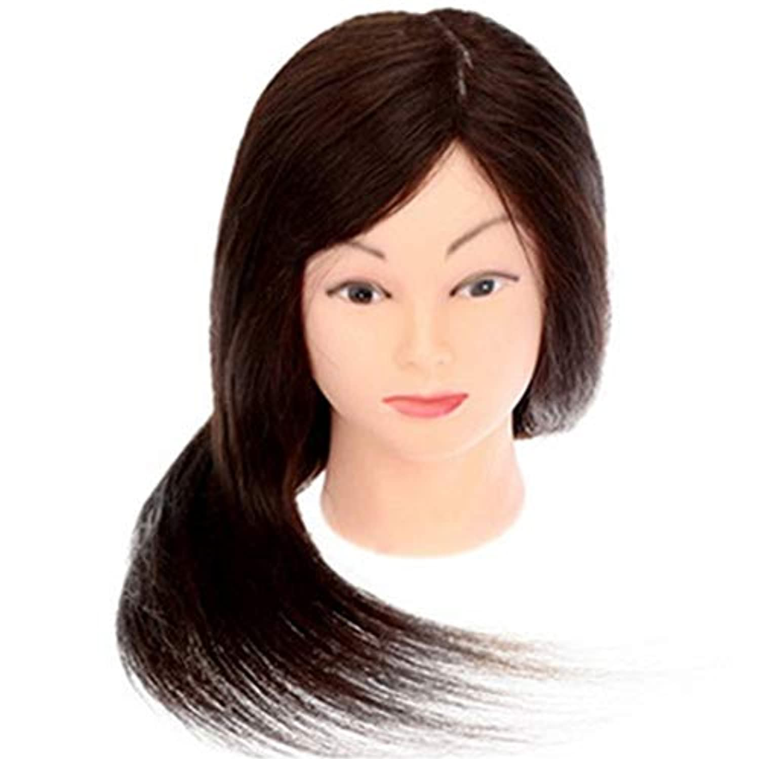 使用法ジョージハンブリー買い物に行くメイクアップエクササイズディスク髪編組ヘッド金型デュアルユースダミーヘッドモデルヘッド美容ヘアカットティーチングヘッドかつら