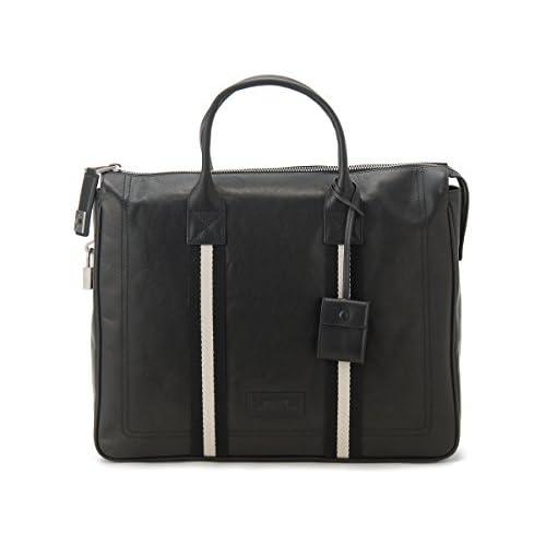 バリー ブリーフケース (ビジネスバッグ) ブラック BALLY TAJESTMD280 (並行輸入品)