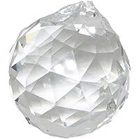 [Yullymerry] 風水 サンキャッチャー クリスタルボール 30mm 20個 セット 幸運 無色 透明