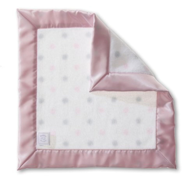 SwaddleDesigns (スワドルデザインズ) :: ベビーラビー セキュリティブランケット 赤ちゃん安心毛布 SD-429 :: Cozy Baby Lovie Sterling Dots with Pastel :: One Size :: ワンサイズ :: 品質保証