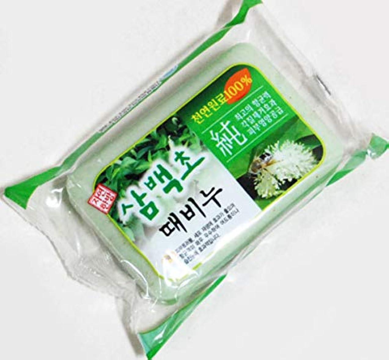 三百草のあかすり石鹸 アカスリ石ケン、韓国本場の沐浴齋戒)