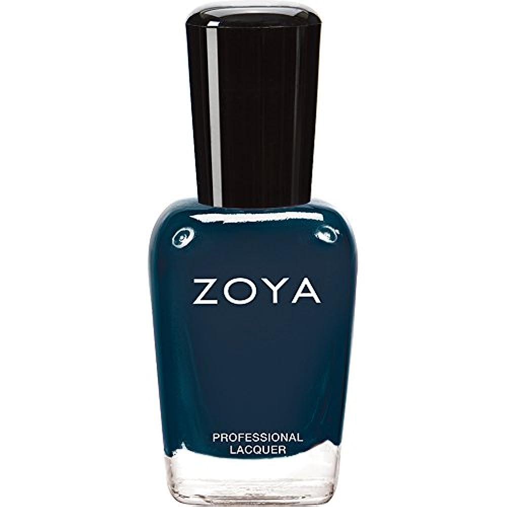 ジョグバラエティ本物のZOYA ゾーヤ ネイルカラー ZP629 NATTY ナッティ 15ml  2012 DESIGNER COLLECTION スモーキーなスチールブルー マット 爪にやさしいネイルラッカーマニキュア