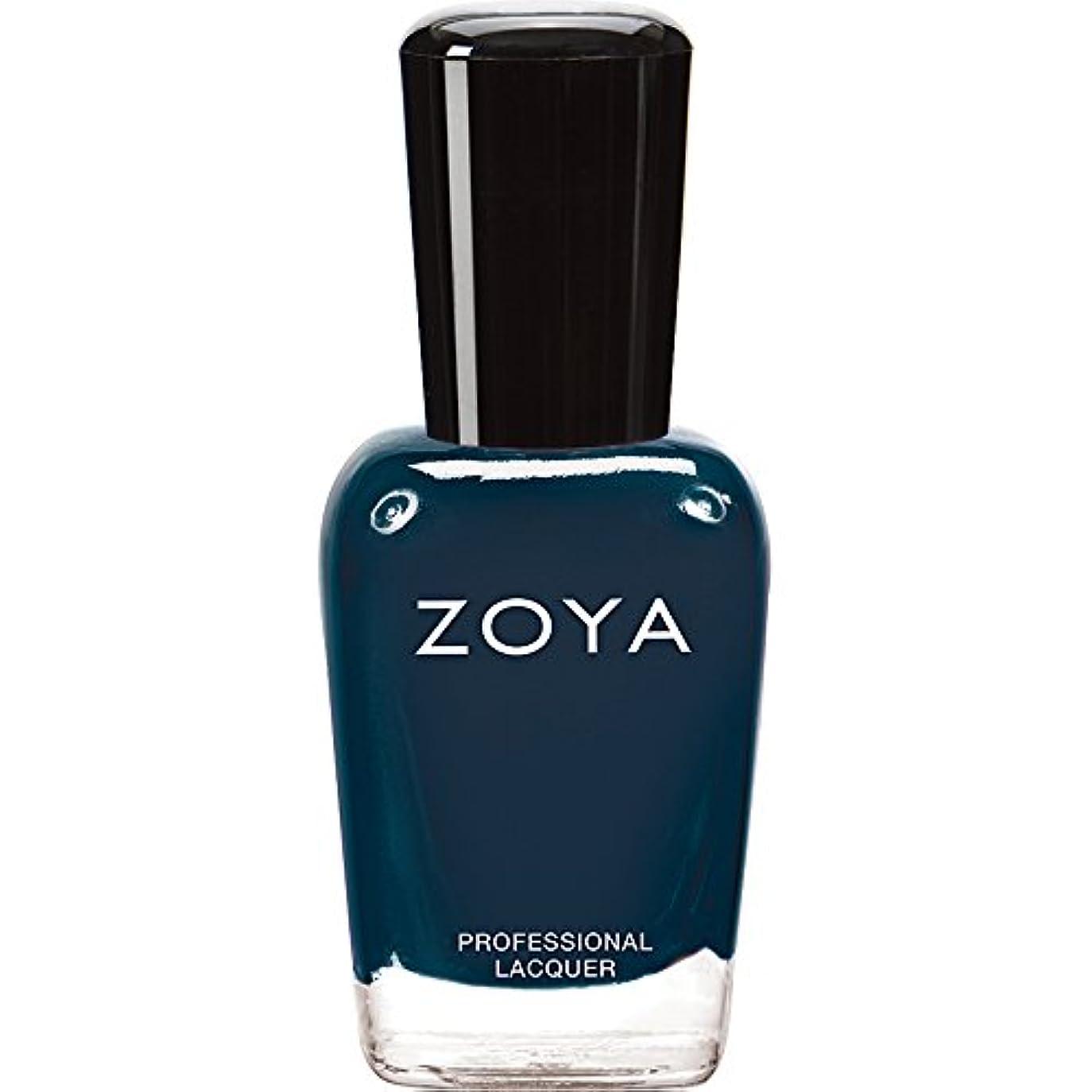 近代化する最初昨日ZOYA ゾーヤ ネイルカラー ZP629 NATTY ナッティ 15ml  2012 DESIGNER COLLECTION スモーキーなスチールブルー マット 爪にやさしいネイルラッカーマニキュア