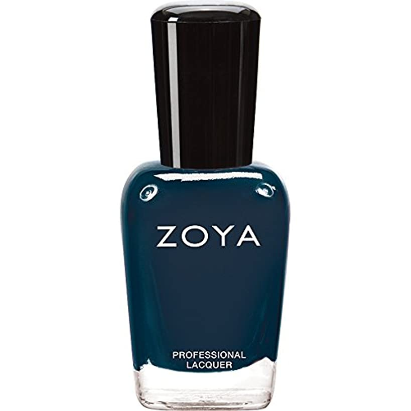 価格蒸留口ZOYA ゾーヤ ネイルカラー ZP629 NATTY ナッティ 15ml  2012 DESIGNER COLLECTION スモーキーなスチールブルー マット 爪にやさしいネイルラッカーマニキュア