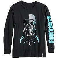 Fortnite Boys Skull Trooper Long Sleeve Tee