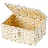 WrappingItems Bamboo バンブーバスケット フタ付き 25-19