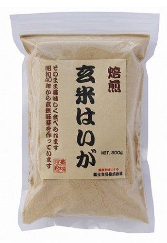 富士食品 玄米胚芽焙煎粉末 300g ×8セット