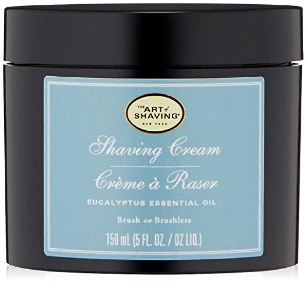 リズミカルな四面体判読できないアートオブシェービング Shaving Cream - Eucalyptus Essential Oil 150ml/5oz並行輸入品