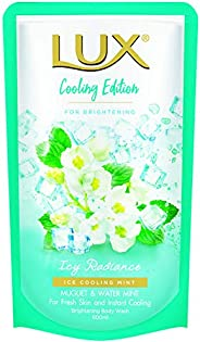 Lux Icy Radiance Body Wash Refill, 600ml