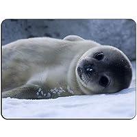 Snow Seal Pup HB0967マウスマットパッド-マウスパッドマウスパッド