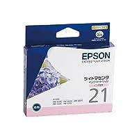 エプソン エプソン対応純正インクカートリッジ ICLM21 ライトマゼンタ ICLM21/53242174