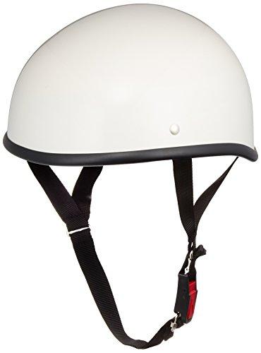 バイクパーツセンター ヘルメット ハーフ ダックテール ホワイト XL (頭囲 61cm~62cm未満) 711801