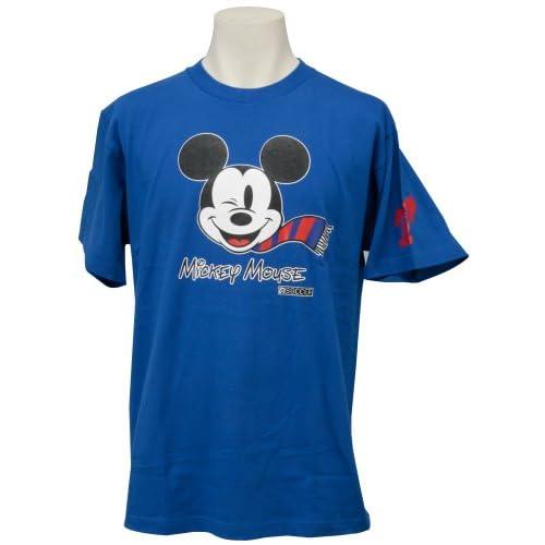 (Jリーグエンタープライズ)J.LEAGUE ENTERPRISE FC東京 ミッキーマウスTシャツ(フェイス) XL 11419068 L3556  ブルー XL