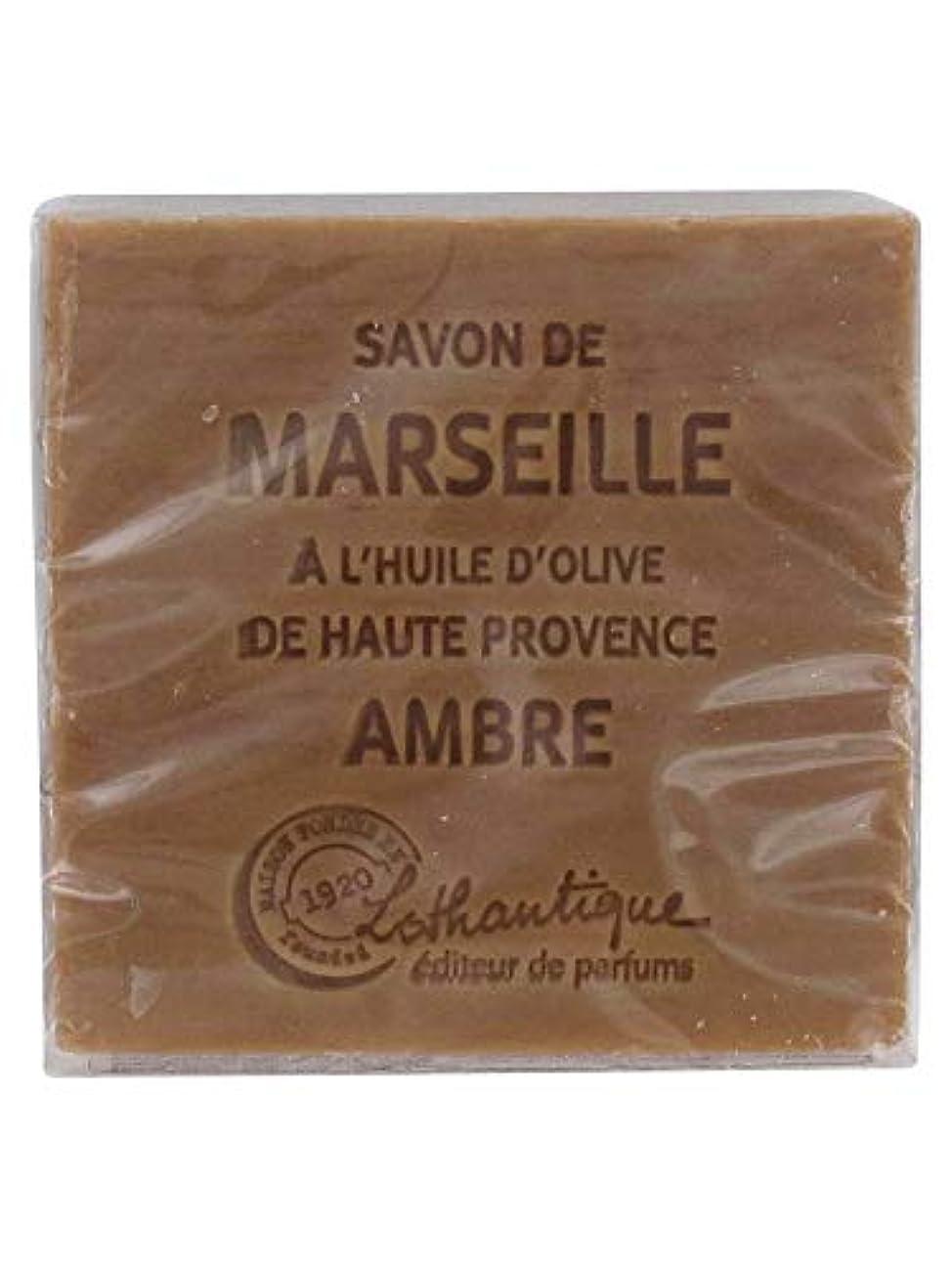 称賛進捗電気的Lothantique(ロタンティック) Les savons de Marseille(マルセイユソープ) マルセイユソープ 100g 「アンバー」 3420070038012