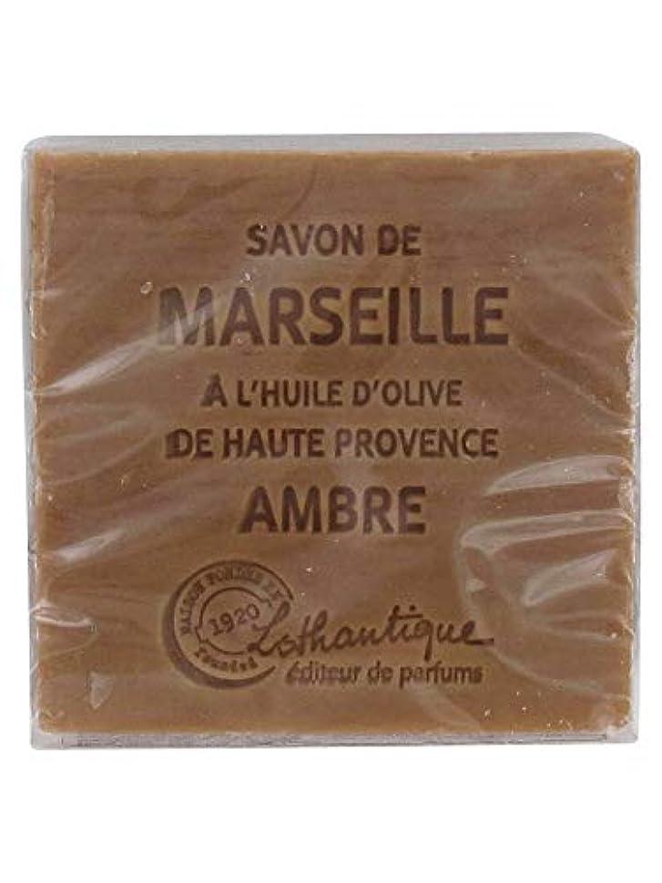 チャンバー刺繍哀れなLothantique(ロタンティック) Les savons de Marseille(マルセイユソープ) マルセイユソープ 100g 「アンバー」 3420070038012