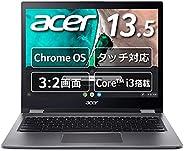 Chromebook Acer 13.5型 ノートパソコン Spin 13 英語キーボード スティールグレイ CP713-1WN-A38P/E