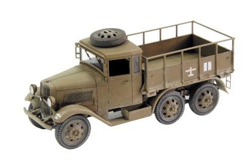 九四式六輪自動貨車 箱型運運転台 ハードトップ (1/35スケールプラスチックモデル組み立てキット FM30)