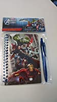 Avengers Assemble Ringedノートブックwith Retractableペン