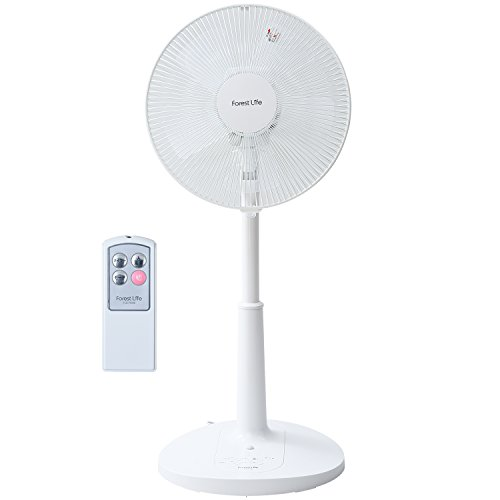 フィフティ フォレストライフ 30cmリビング扇風機 (リモコン) (風量3段階) タイマー付 FLE-R306