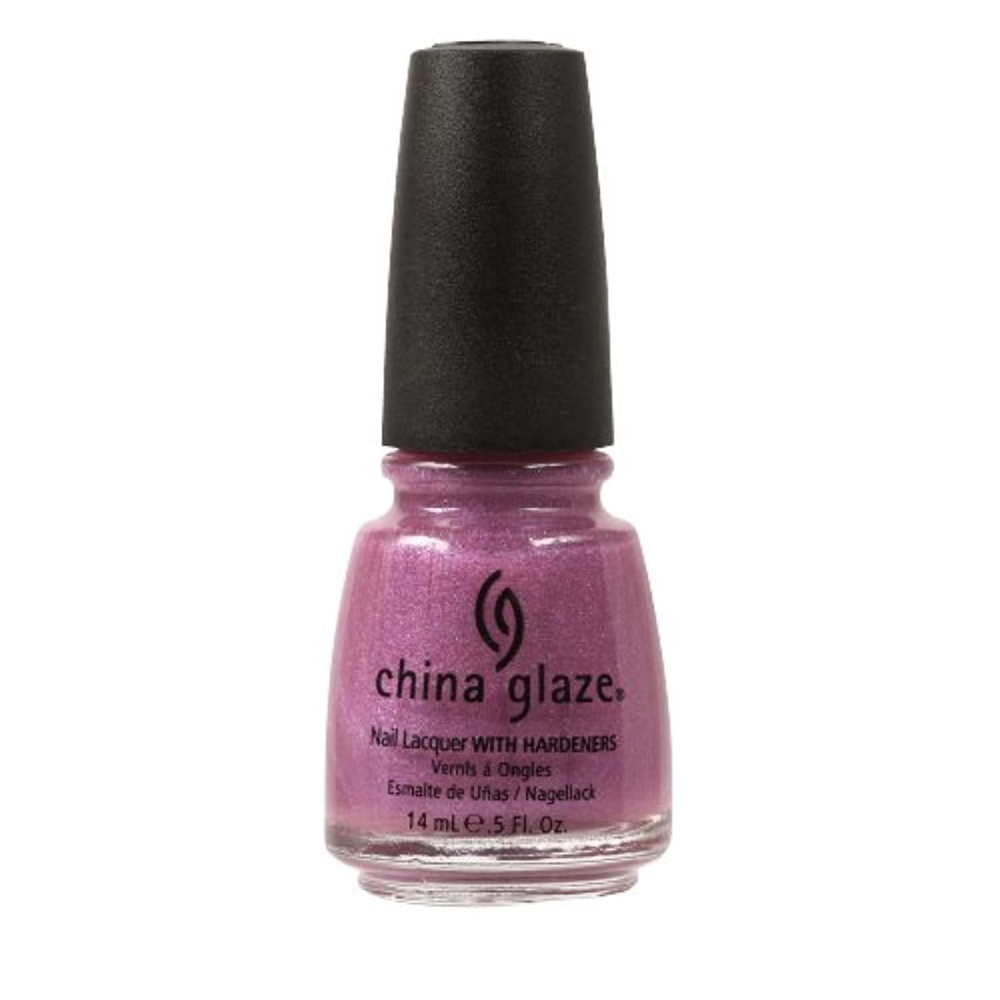(6 Pack) CHINA GLAZE Nail Lacquer with Nail Hardner - Jetstream (並行輸入品)