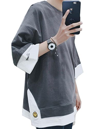 dfe9e57ca68541 STRDK Tシャツ 半袖 カットソー メンズ ゆったり おしゃれ 薄手 涼しい カジュアル オールシーズン メンズtシャツ