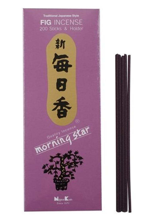 短命友だち認証Morning Star Fig Incense – 200 sticks